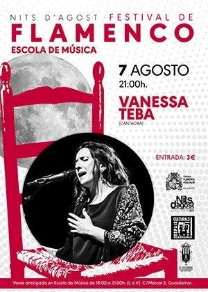 Vanessa Teba Festival Flamenco Guardamar