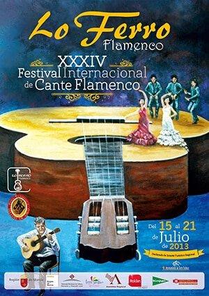 Vanessa Teba Cartel Flamenco Lo Ferro