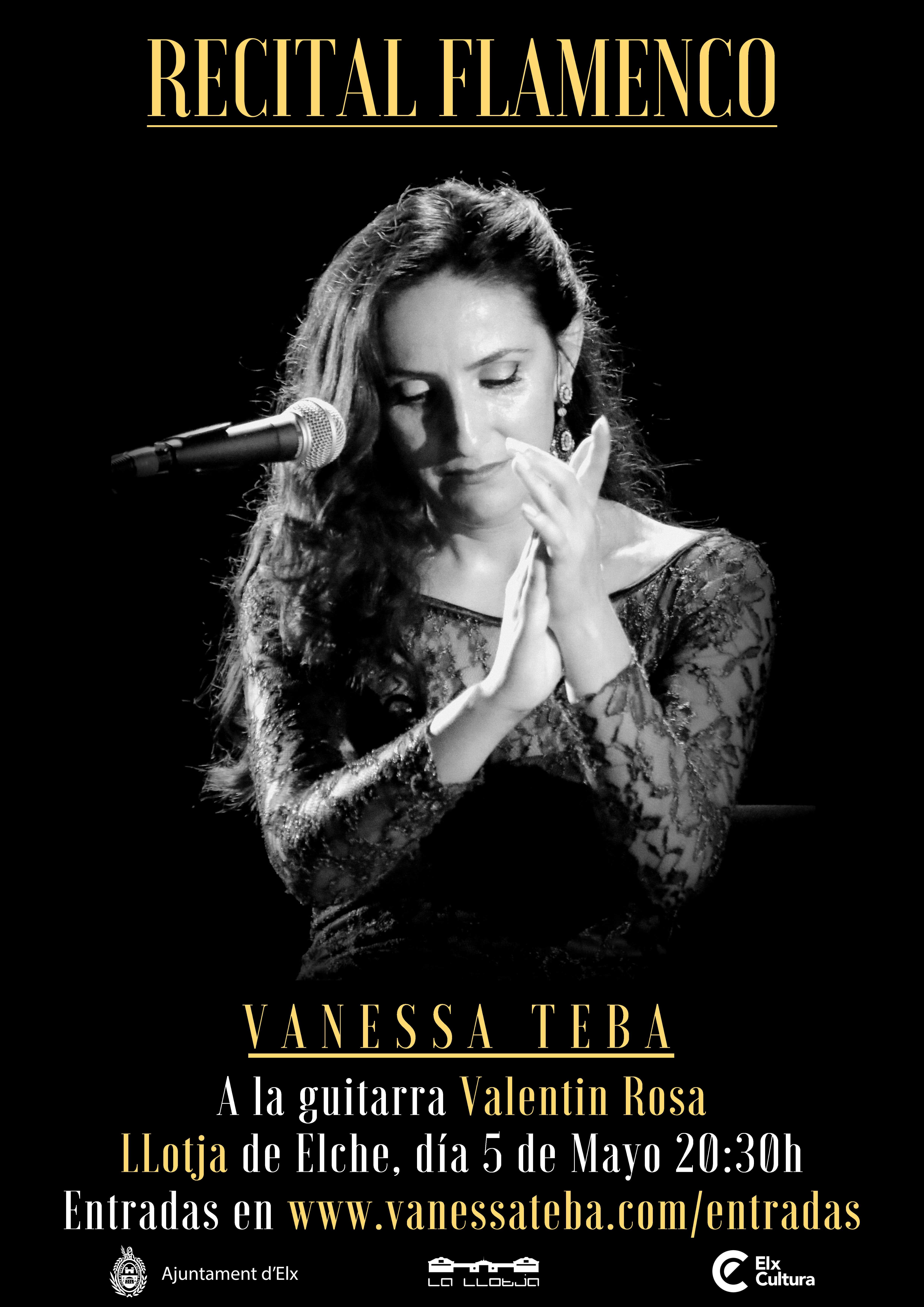 Recital Flamenco LLotja 5 Mayo 2018