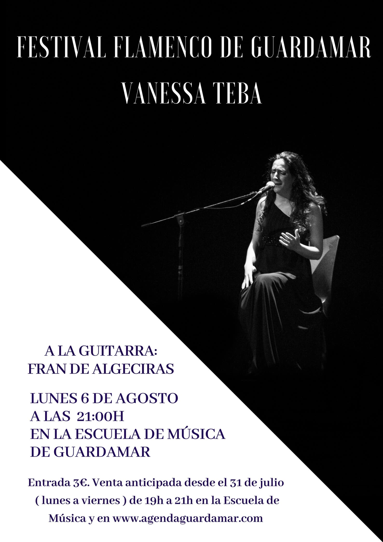 Recital Flamenco Guardamar Vanessa Teba