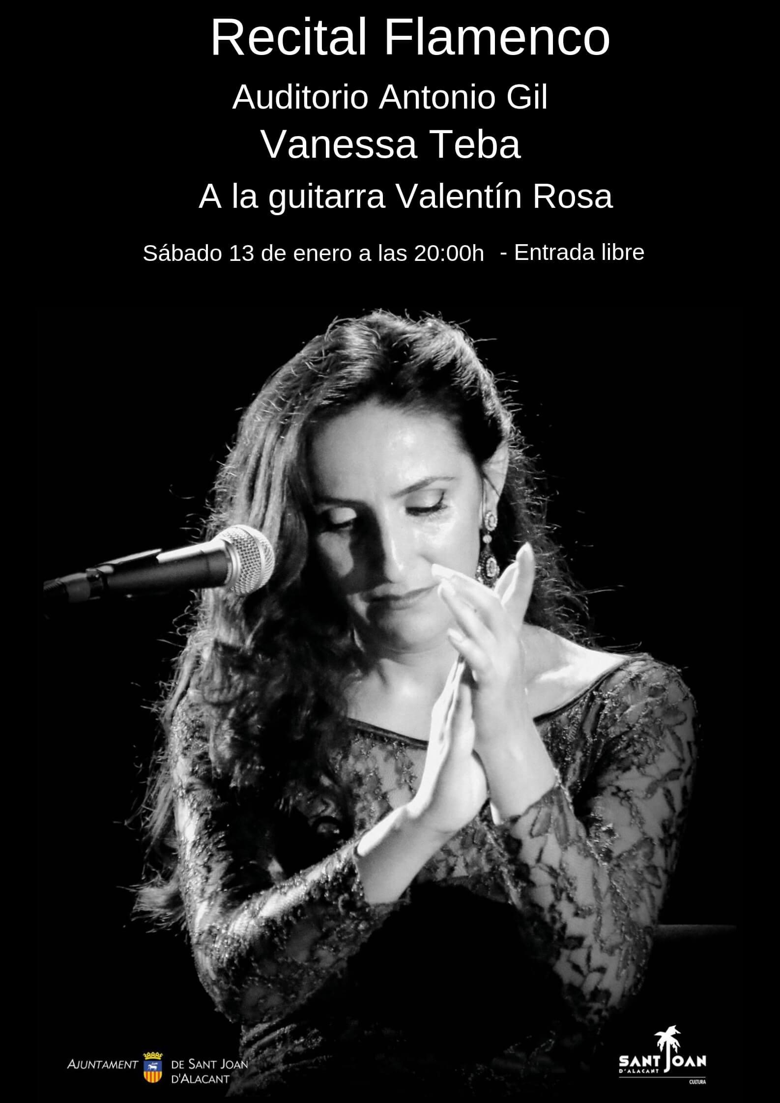 Recital Flamenco Vanessa Teba