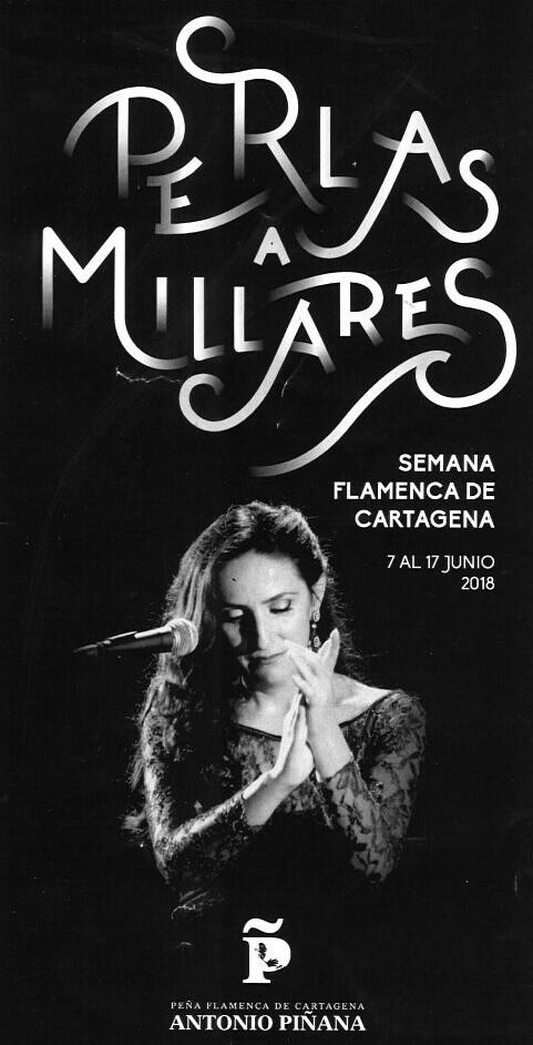 Vanessa Teba Flamenco Cartagena Perlas a Millares