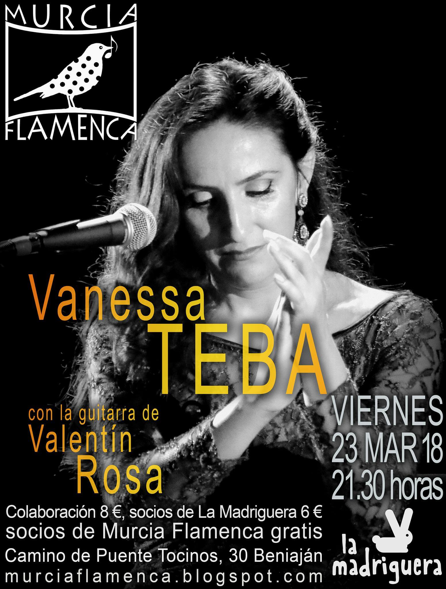 Vanessa Teba Murcia Flamenca